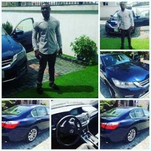 Ubi Franklin Gifts His Childhood Friend A Brand New Car [Photos]